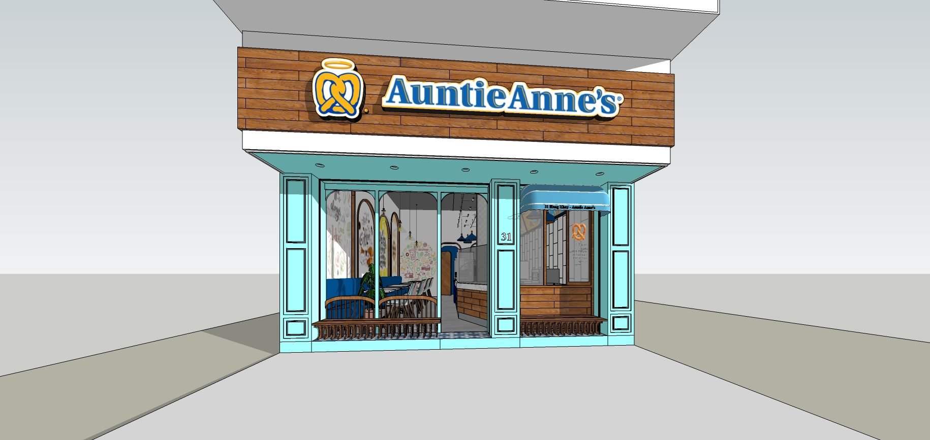 Auntie Anne's 31 Hàng Khay – project2019